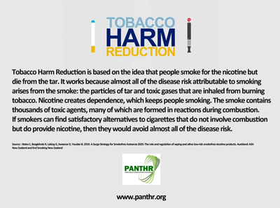 Time ripe for inclusion of harm reduction in tobacco control policy
